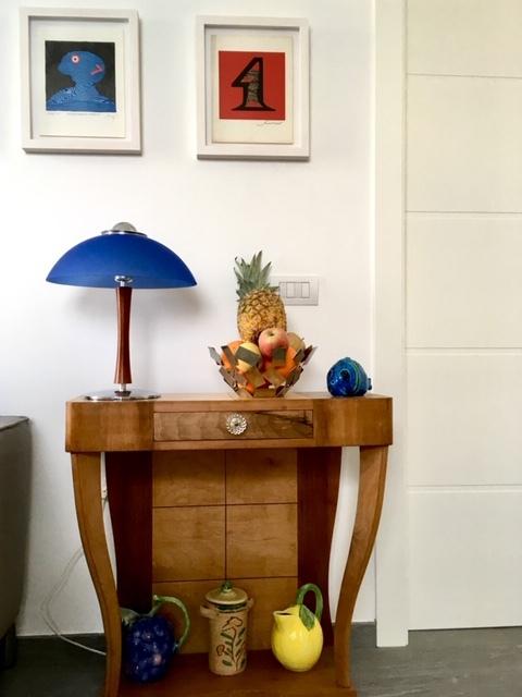 6. Arredo artigianale d'epoca realizzato in legno: lavori ultimati.